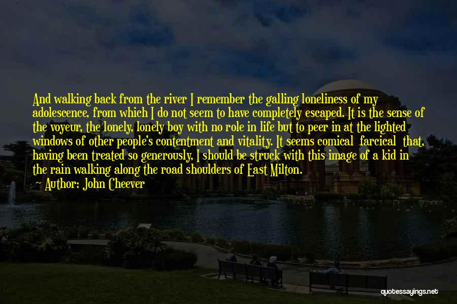 Escaped Quotes By John Cheever
