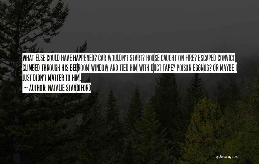 Escaped Quotes By Natalie Standiford