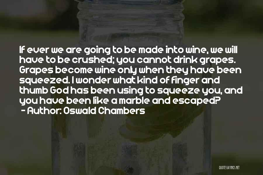Escaped Quotes By Oswald Chambers