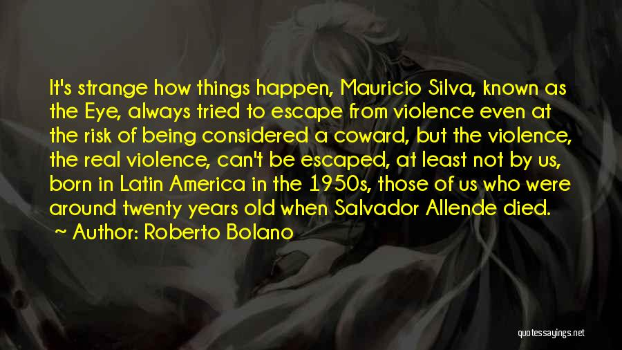 Escaped Quotes By Roberto Bolano