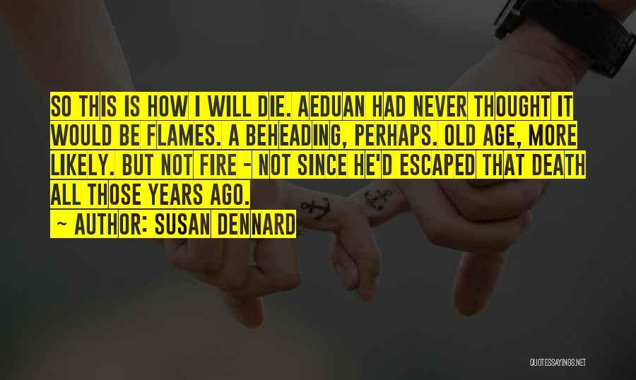 Escaped Quotes By Susan Dennard