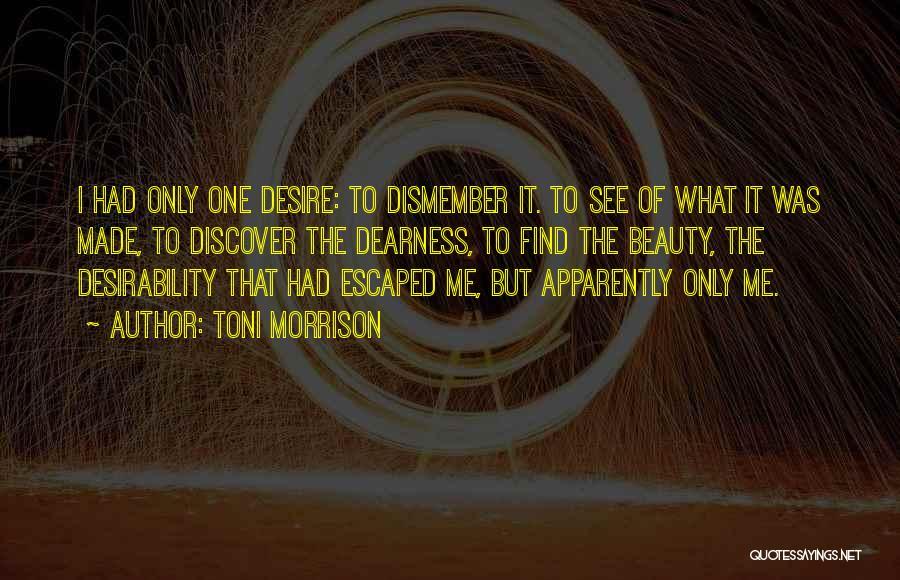 Escaped Quotes By Toni Morrison