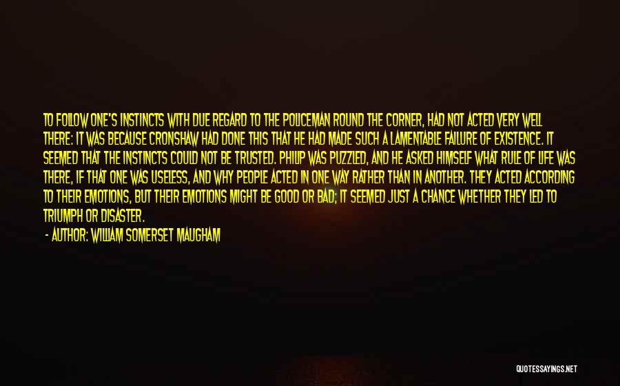 Escaped Quotes By William Somerset Maugham