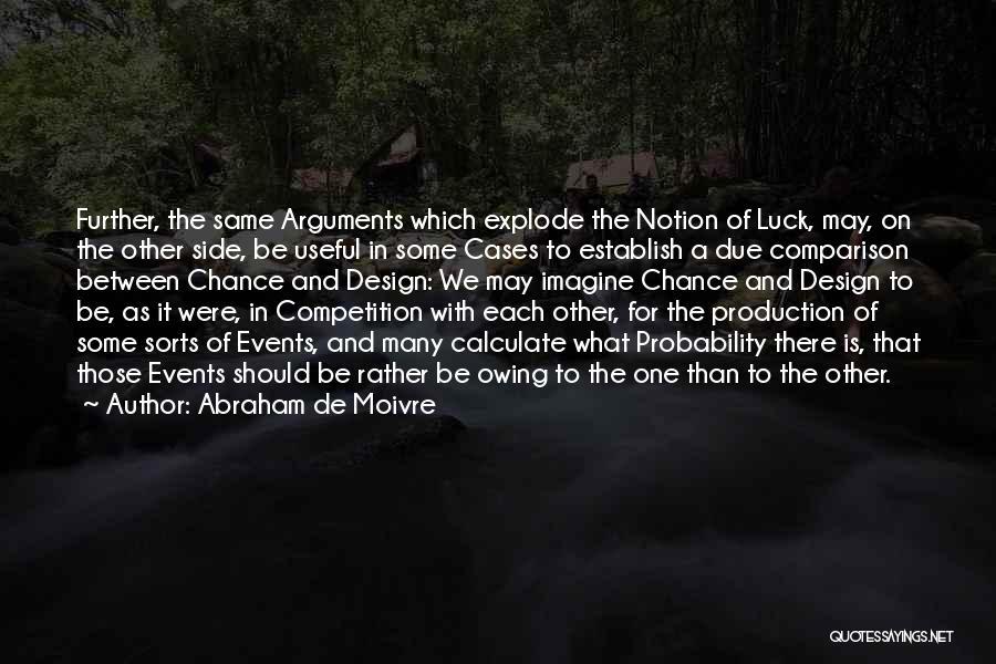 Establish Quotes By Abraham De Moivre