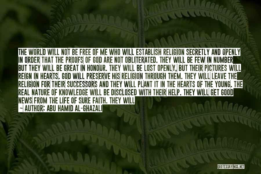 Establish Quotes By Abu Hamid Al-Ghazali