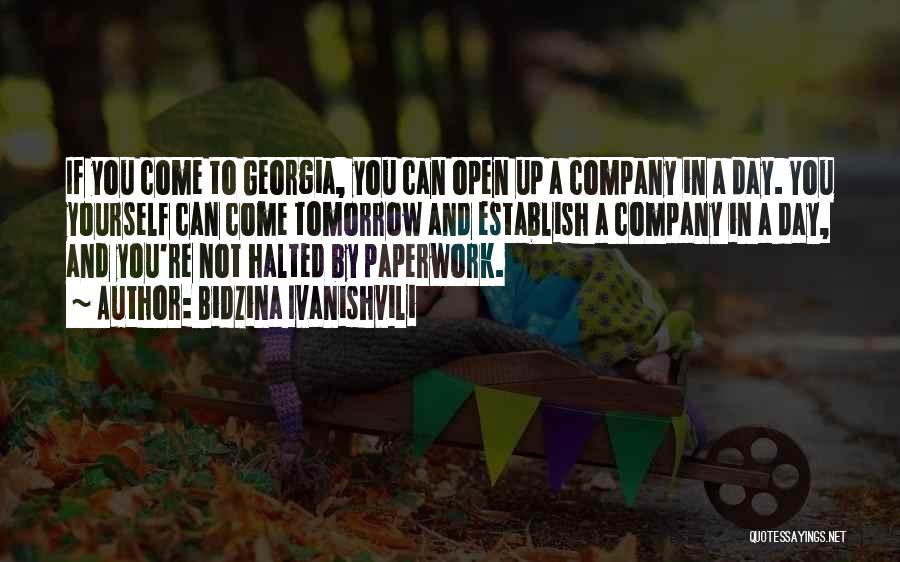 Establish Quotes By Bidzina Ivanishvili