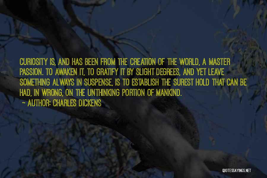 Establish Quotes By Charles Dickens