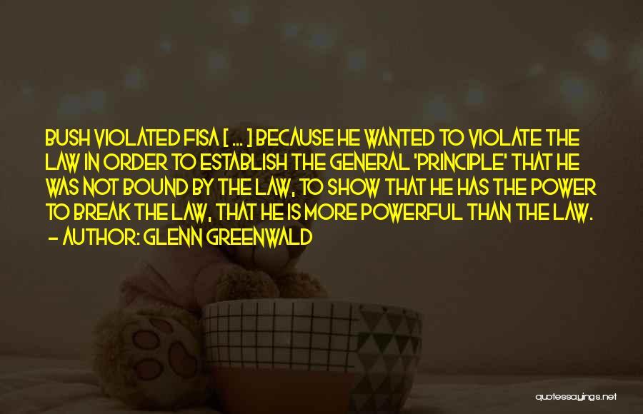 Establish Quotes By Glenn Greenwald