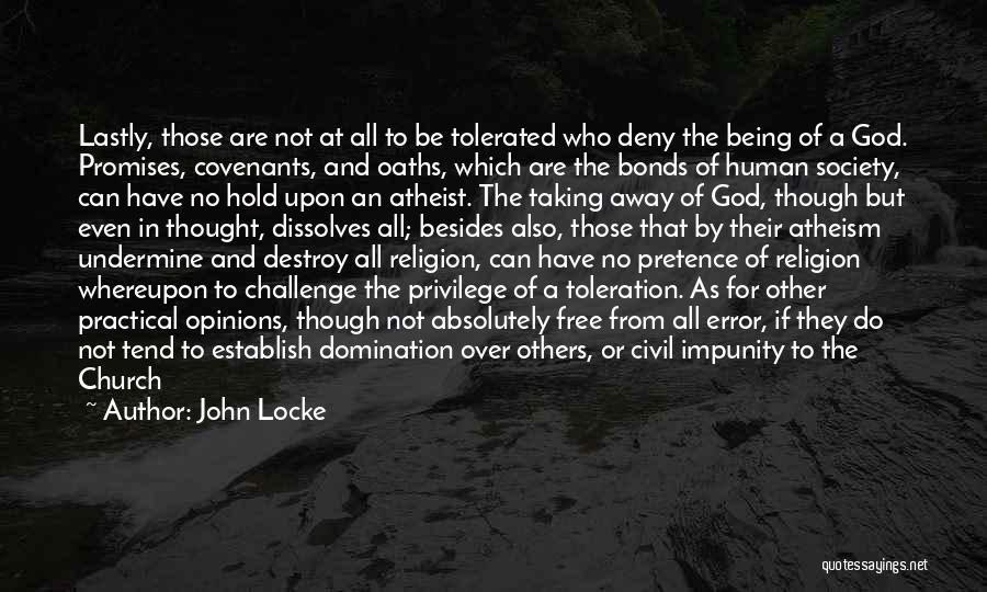 Establish Quotes By John Locke