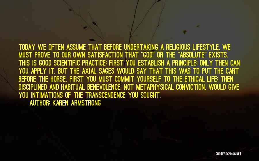 Establish Quotes By Karen Armstrong