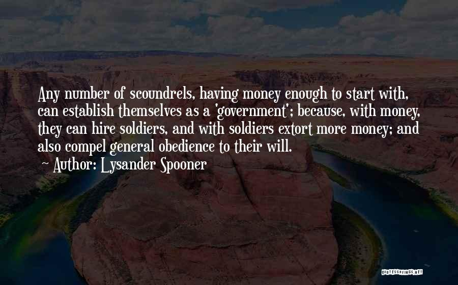Establish Quotes By Lysander Spooner