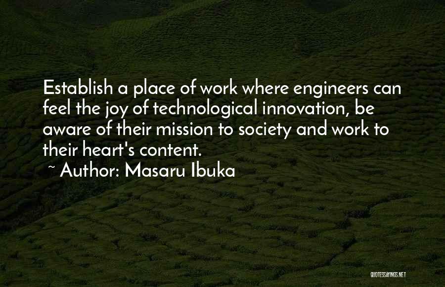 Establish Quotes By Masaru Ibuka