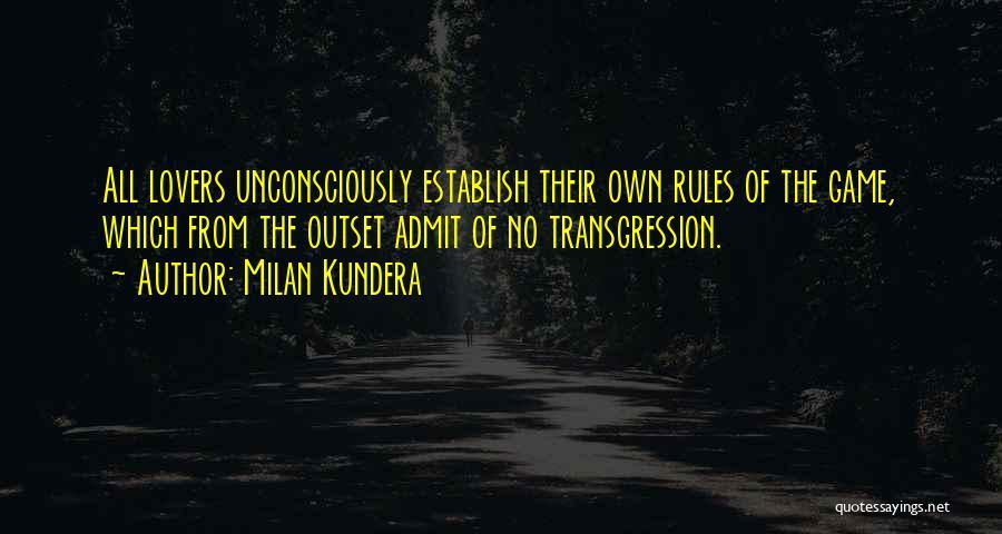 Establish Quotes By Milan Kundera