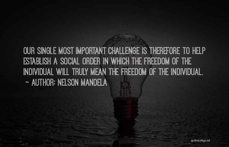 Establish Quotes By Nelson Mandela