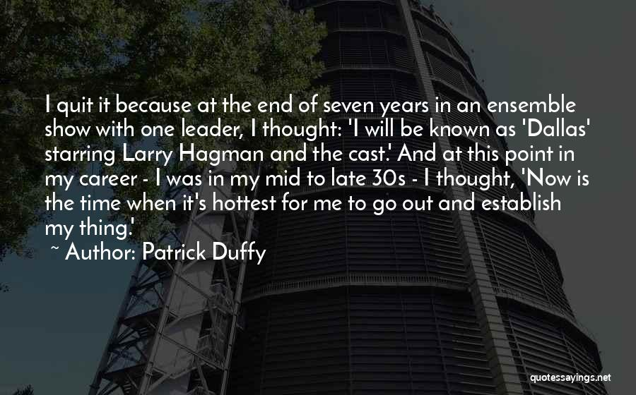 Establish Quotes By Patrick Duffy