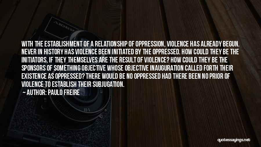 Establish Quotes By Paulo Freire