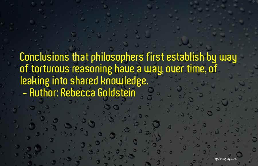 Establish Quotes By Rebecca Goldstein