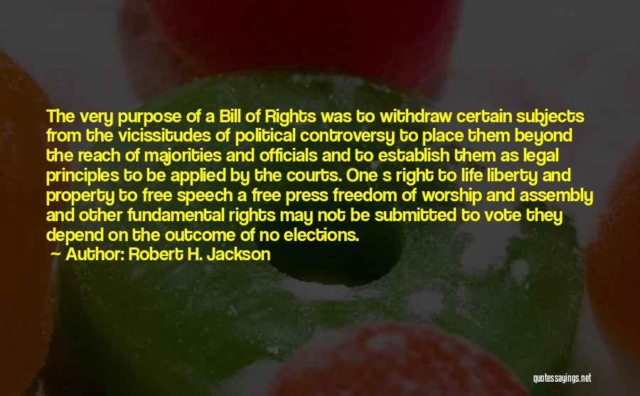 Establish Quotes By Robert H. Jackson