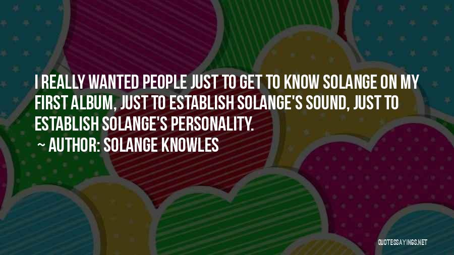 Establish Quotes By Solange Knowles