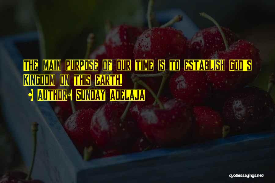 Establish Quotes By Sunday Adelaja