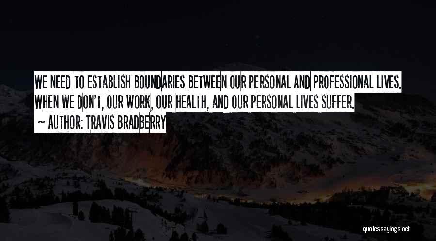 Establish Quotes By Travis Bradberry