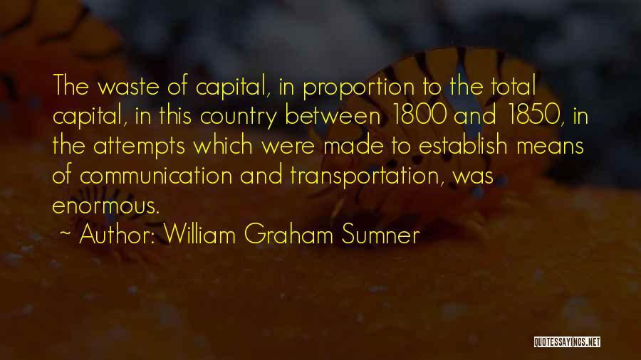 Establish Quotes By William Graham Sumner