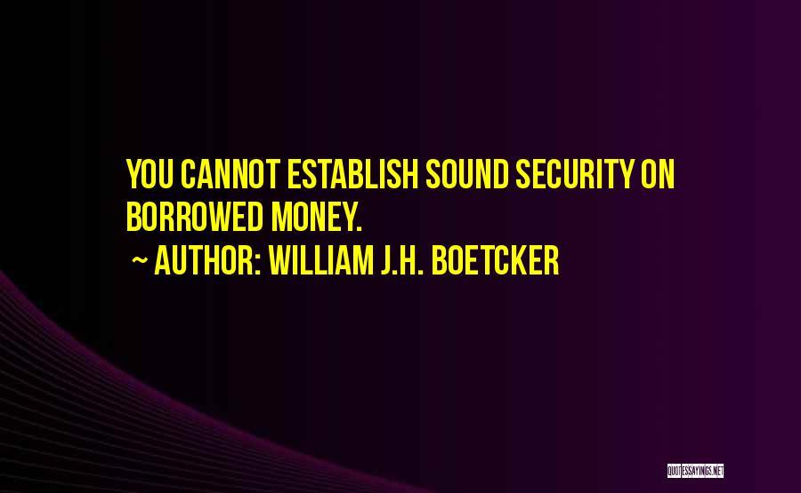Establish Quotes By William J.H. Boetcker