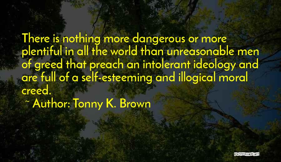 Esteeming Others Quotes By Tonny K. Brown