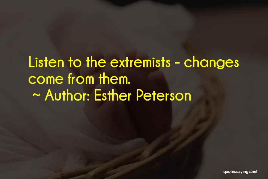 Esther Peterson Quotes 1932874