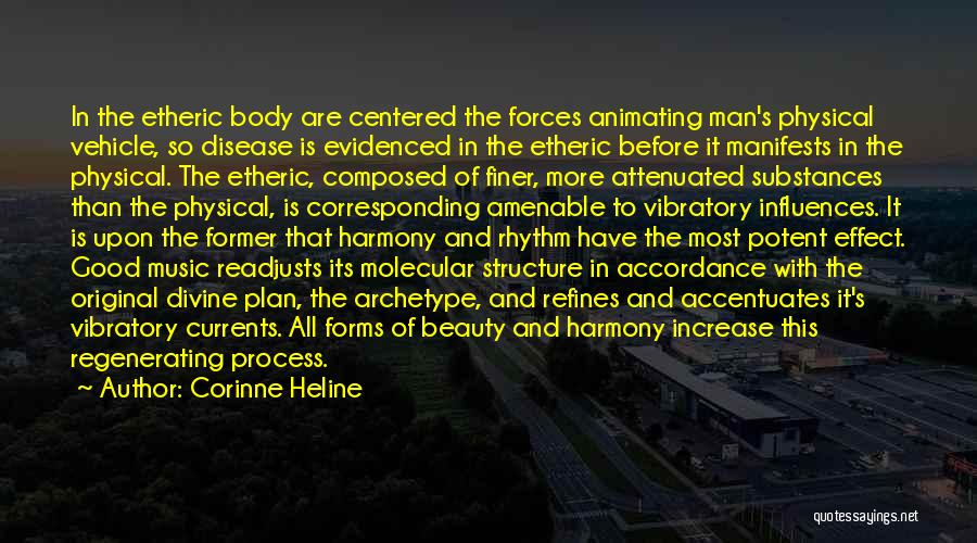 Etheric Body Quotes By Corinne Heline