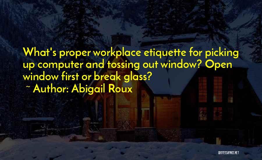 Etiquette Quotes By Abigail Roux