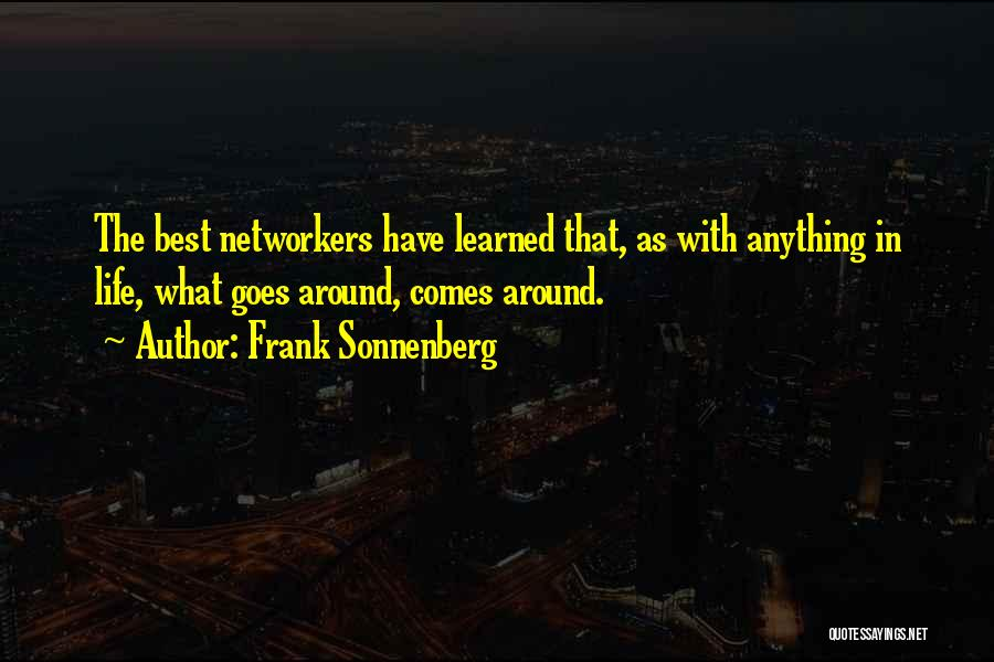 Etiquette Quotes By Frank Sonnenberg