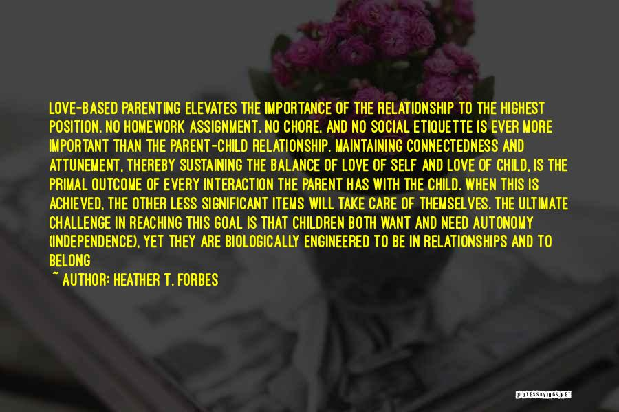 Etiquette Quotes By Heather T. Forbes