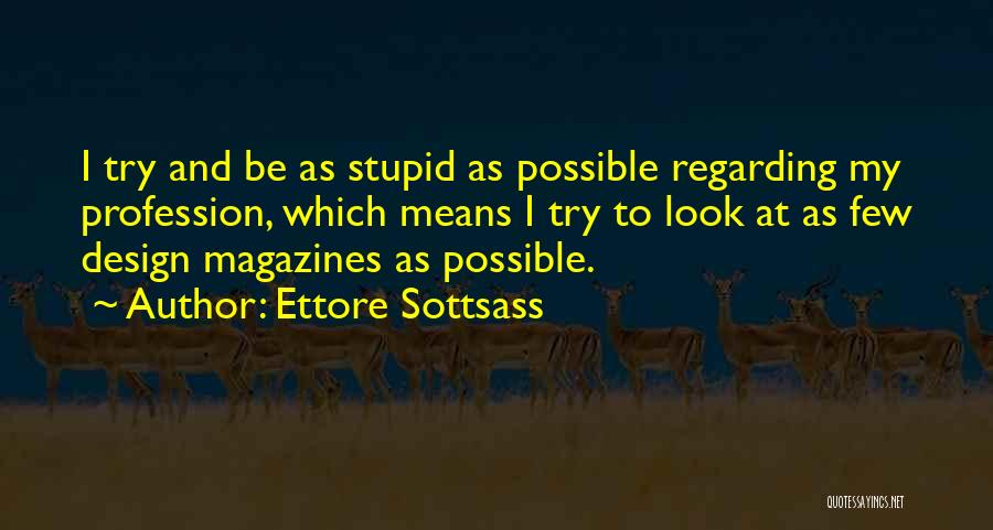 Ettore Sottsass Quotes 384587
