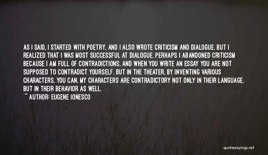 Eugene Ionesco Quotes 1724412