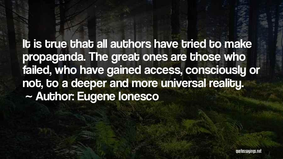 Eugene Ionesco Quotes 492354
