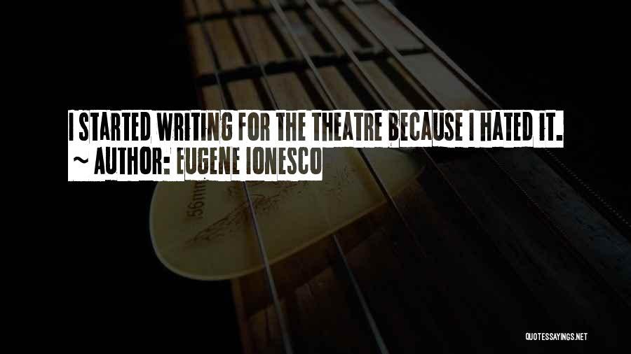 Eugene Ionesco Quotes 813360
