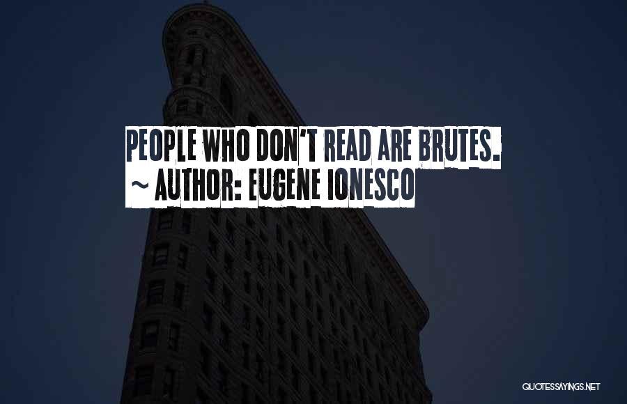 Eugene Ionesco Quotes 917914