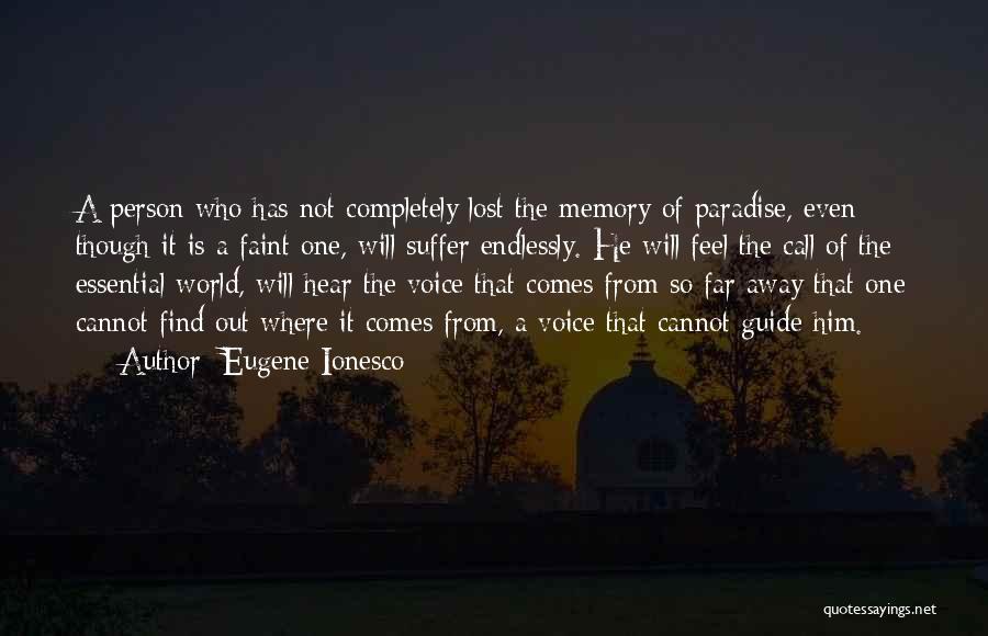Eugene Ionesco Quotes 925524