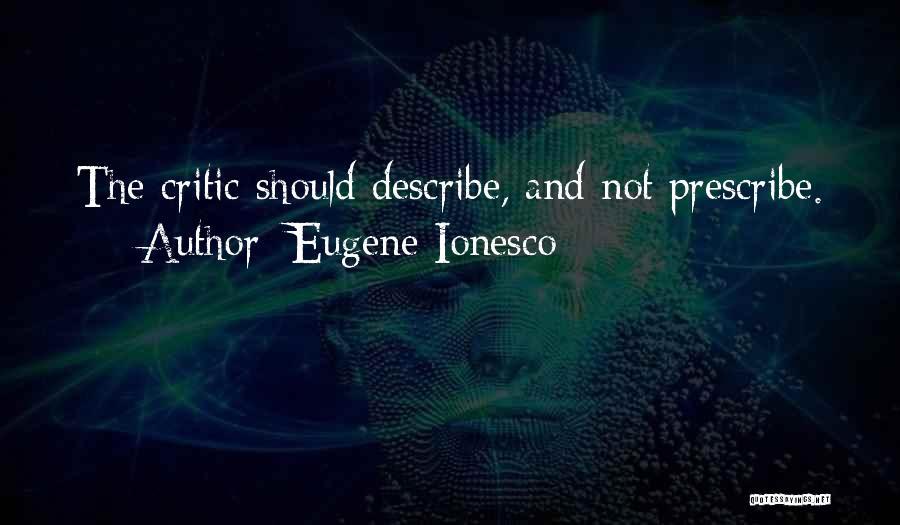 Eugene Ionesco Quotes 943730