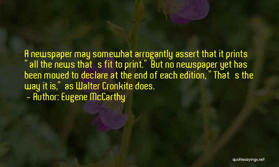 Eugene McCarthy Quotes 1786354