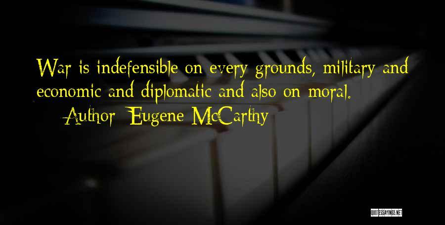 Eugene McCarthy Quotes 2169522
