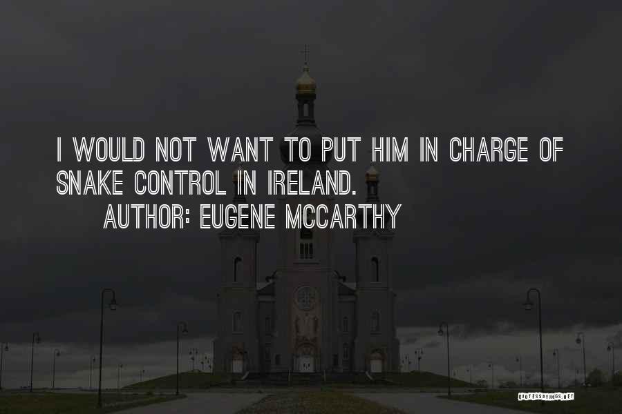 Eugene McCarthy Quotes 88147