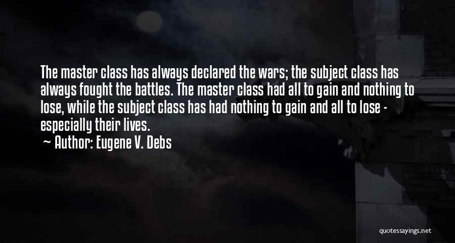 Eugene V. Debs Quotes 1493854
