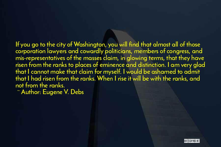 Eugene V. Debs Quotes 200357