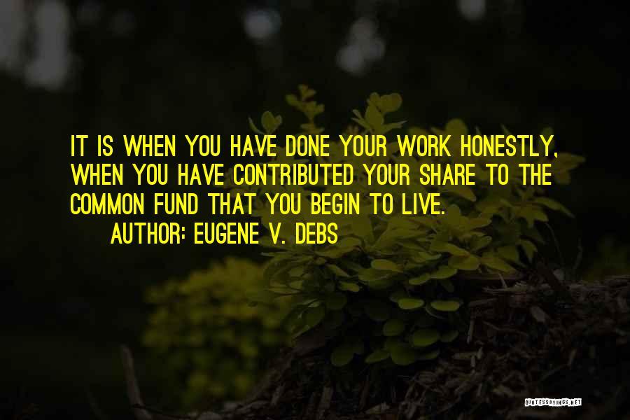 Eugene V. Debs Quotes 2016991