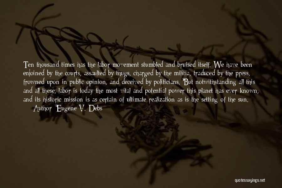 Eugene V. Debs Quotes 2242228