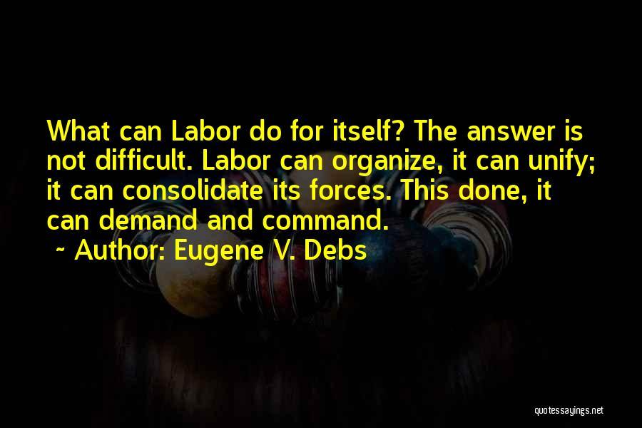 Eugene V. Debs Quotes 262791