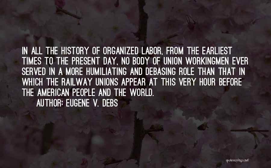 Eugene V. Debs Quotes 589546