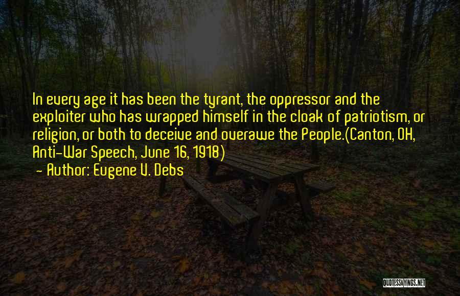 Eugene V. Debs Quotes 814699